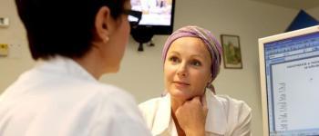 Patiënt na chemotherapie