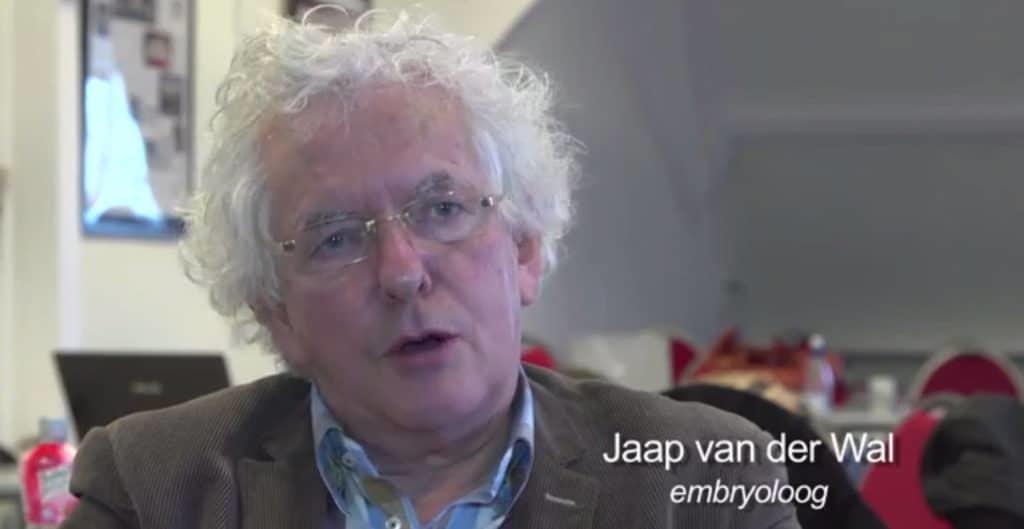 Jaap van der Wal over embryologie