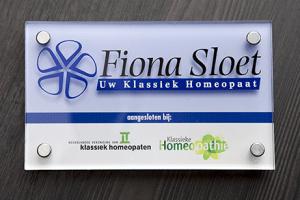 Naambordje Fiona Sloet
