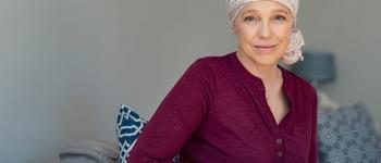 Vrouw leidt aan kanker